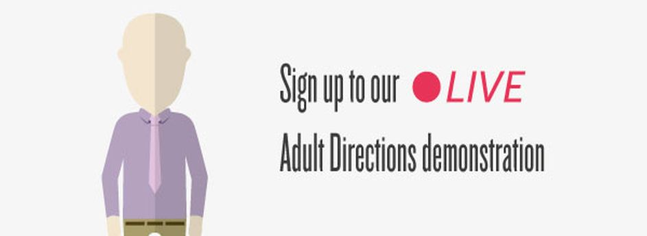 Join CASCAID's exclusive LIVE product demonstration on Adult Directions