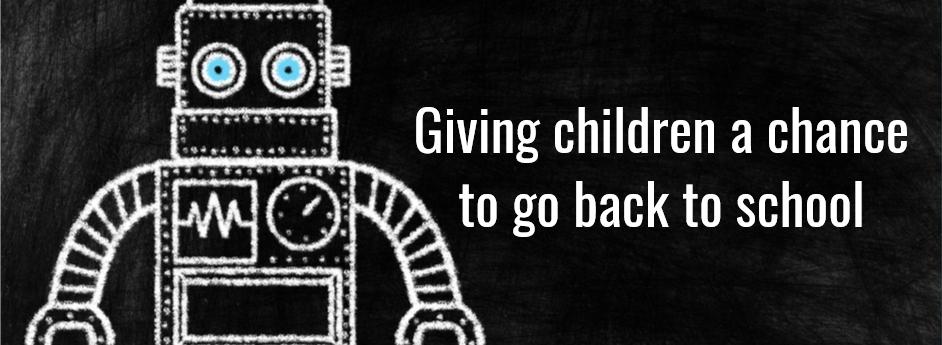 The robots that help children to return toschool